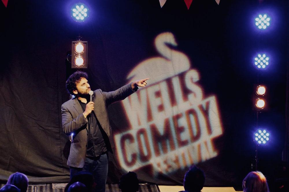 Nish Kumar, 2018