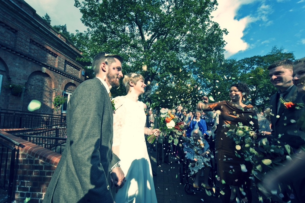 West Bridgford Wedding Photography, Confetti