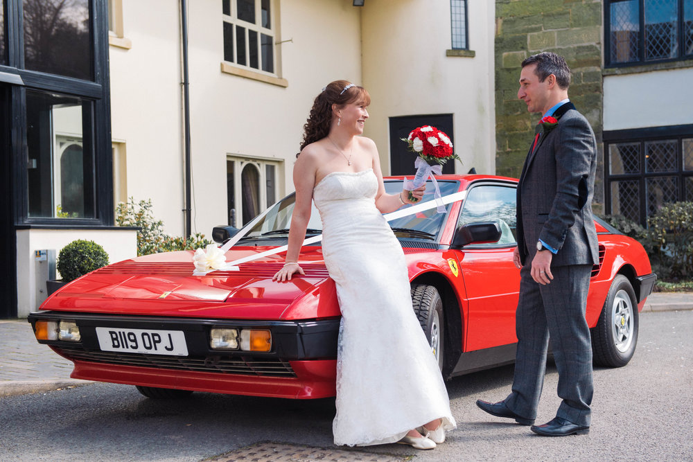 Preisthouse Hotel Wedding Photographer Ferrari