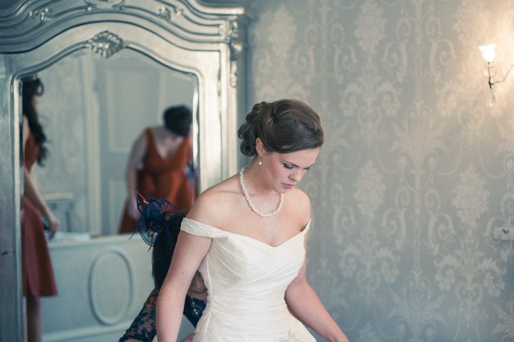 Beautiful Bride, Prestwold Hall Wedding Photography