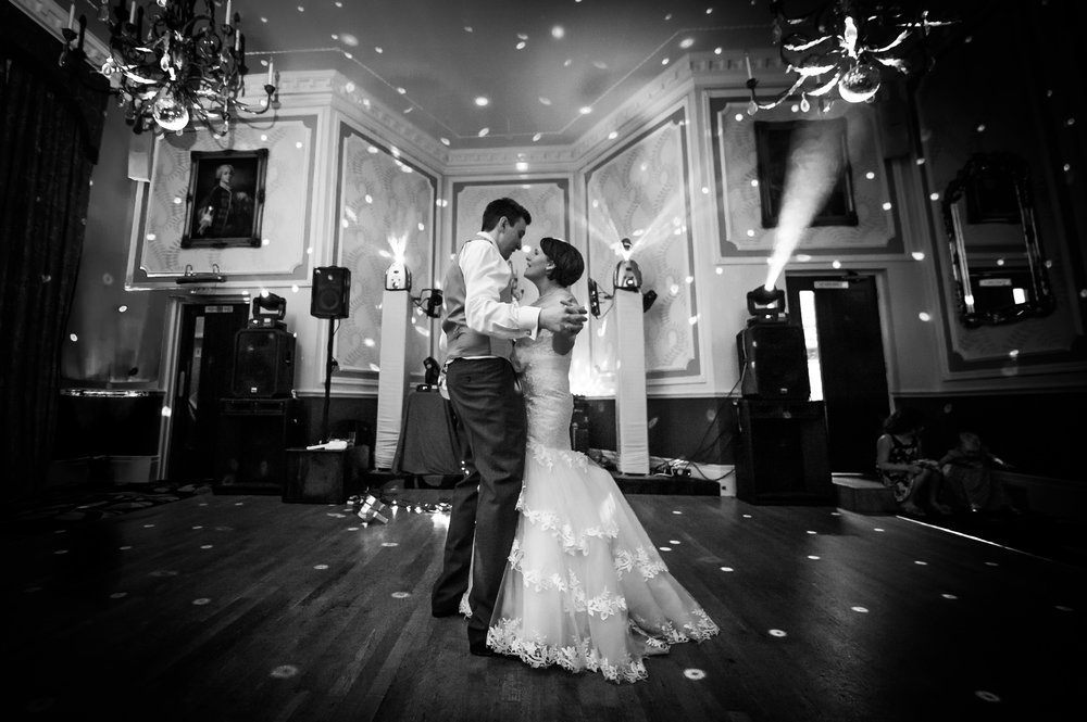 First Dance, Black & White, Wedding Photography
