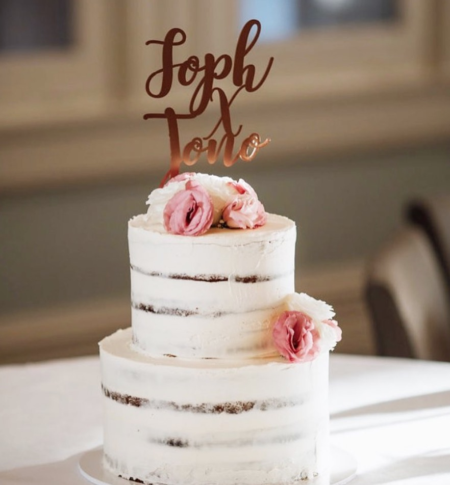 Naked Cakes cake by @sweet_connoisseur_cakes