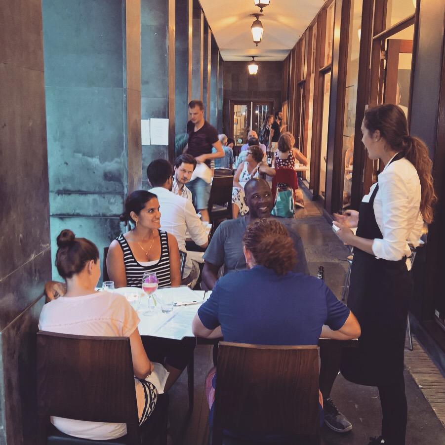 Dinner @ the terrace
