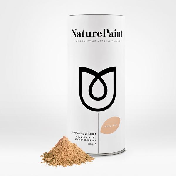 Nature Paint logo designed by B&B Studio. -