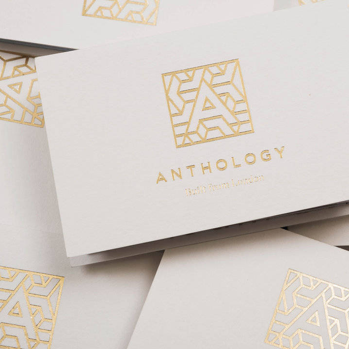 Anthology logo designed by Greenspace. -