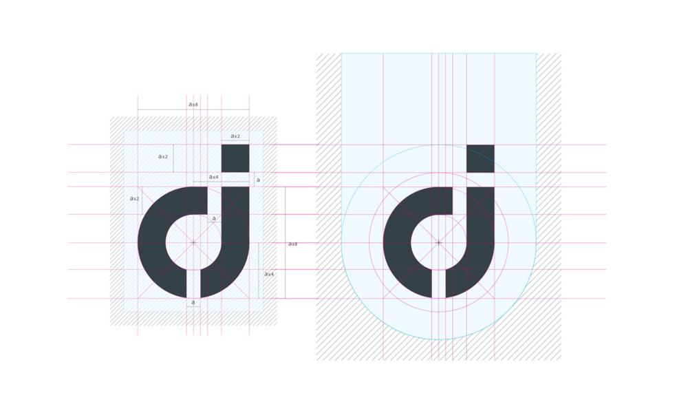 AJA Graphics logo design