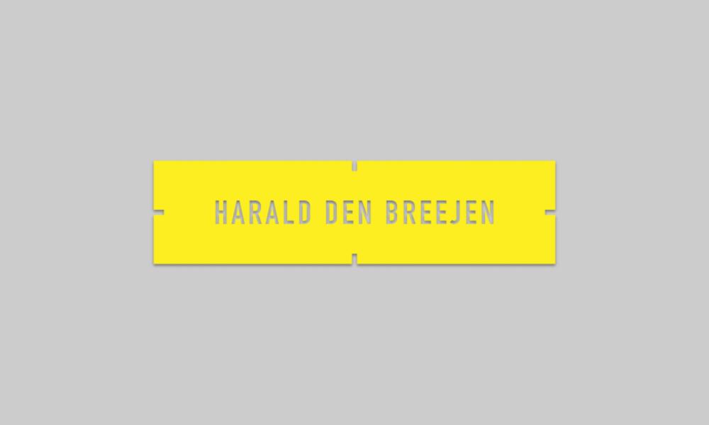 Harald Den Breejen logo design