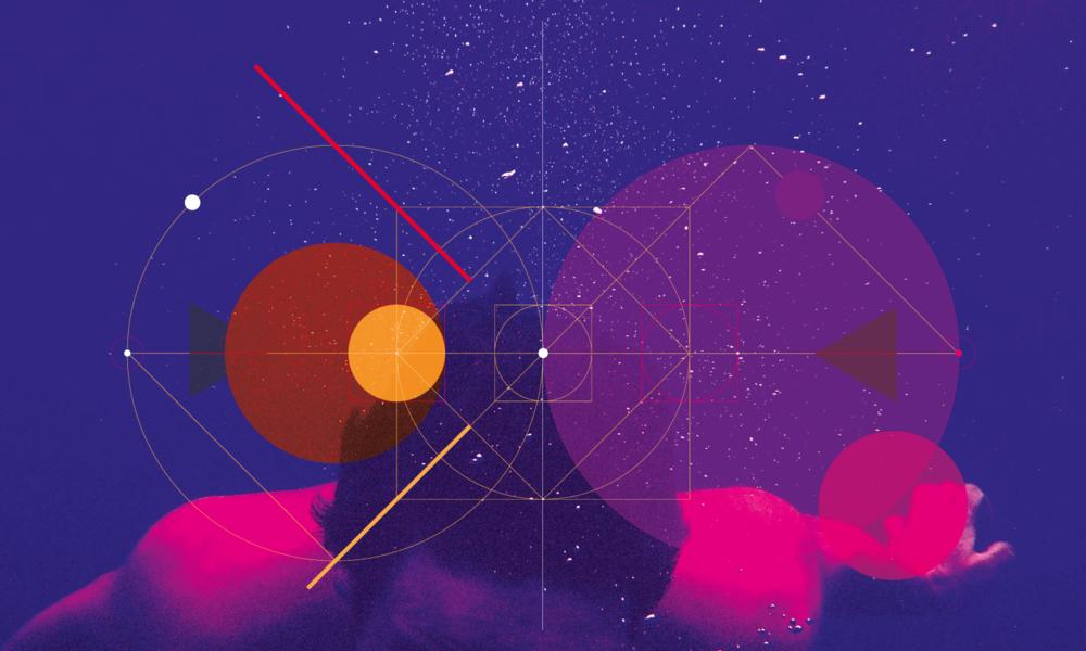 Self-initiated project: sacred geometry.
