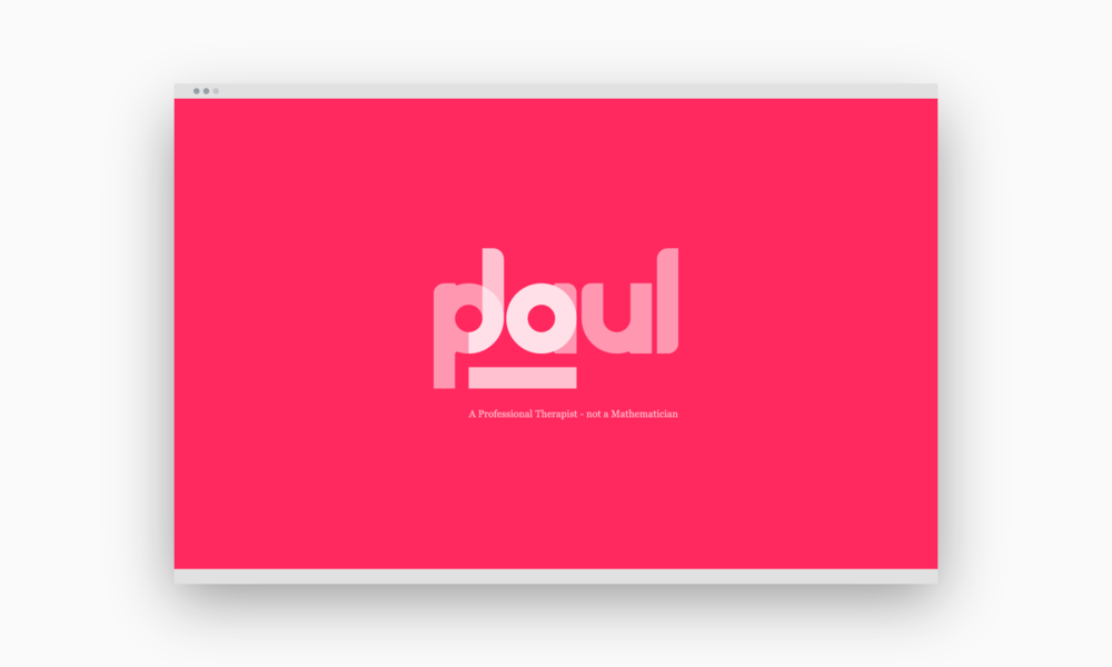 Jo Paul logo mockup.