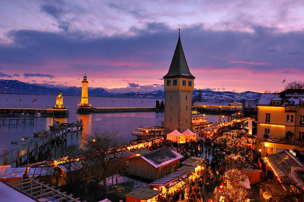 Insel Hostel Lindau - Wintertraum am Bodensee