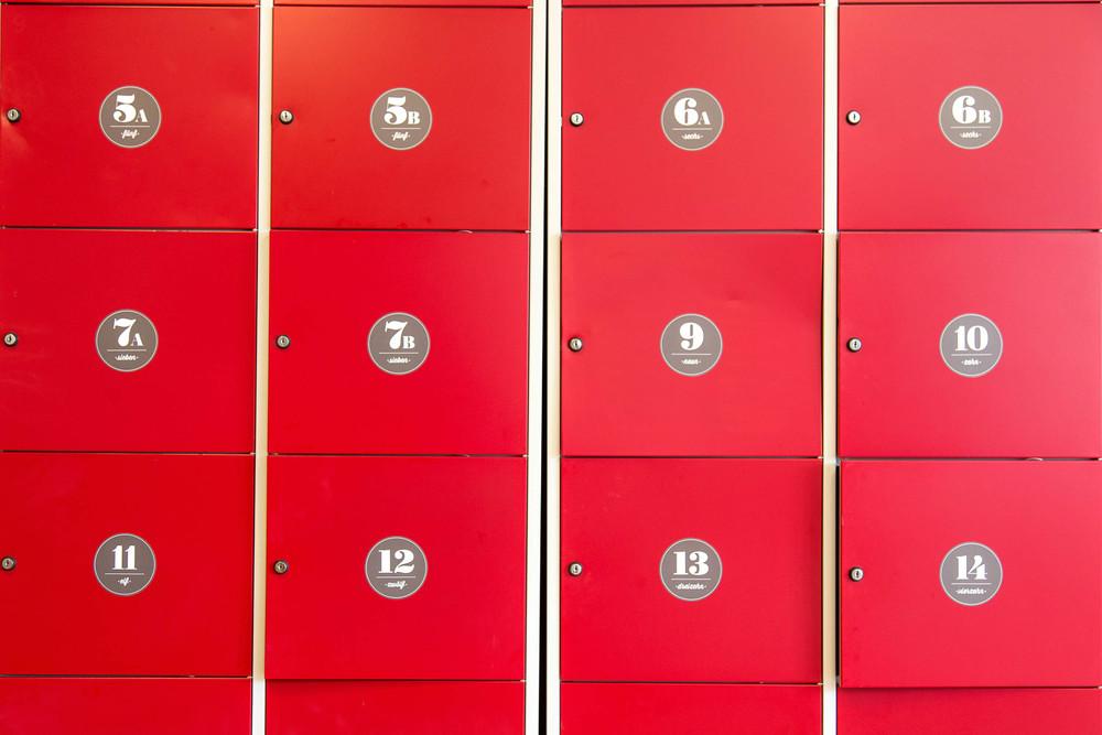 Free lockers - Insel Hostel LIndau