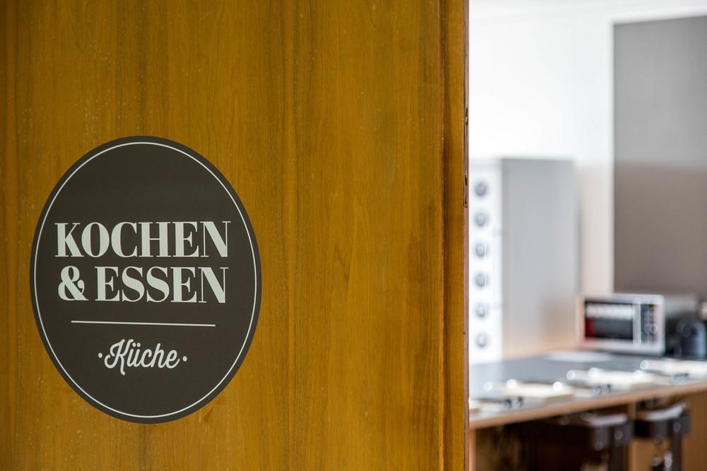 Shared kitchen - Insel Hostel LIndau