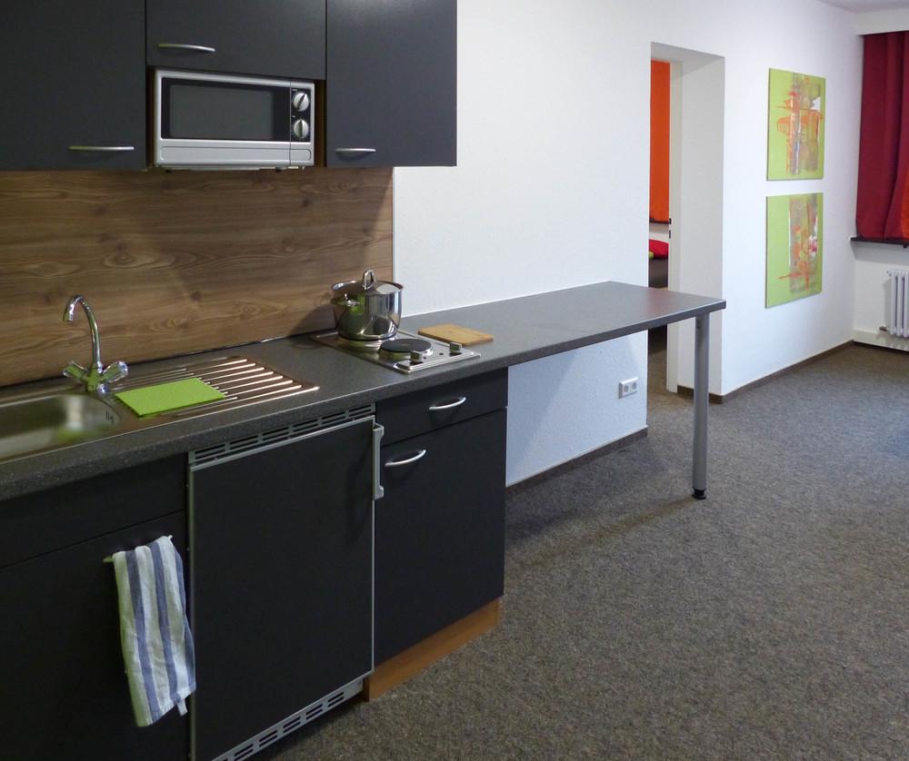 Insel Hostel Lindau - studio kitchen