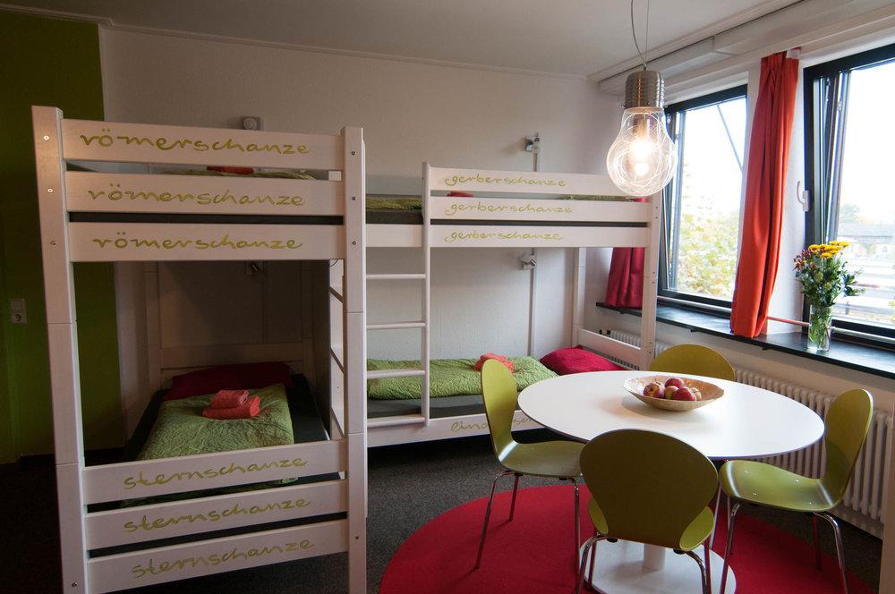 Insel Hostel Lindau Lake Constance - 8-bed-dorm - detail 4
