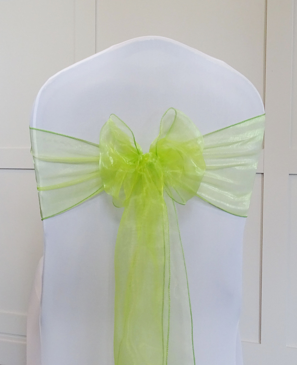 Grass Green Organza