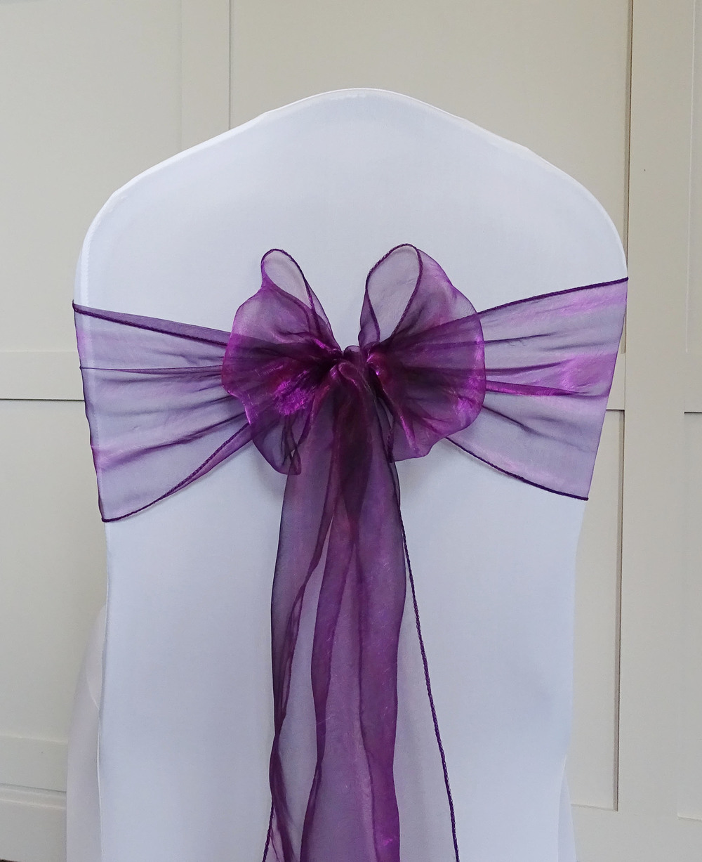 Cadbury Purple Organza