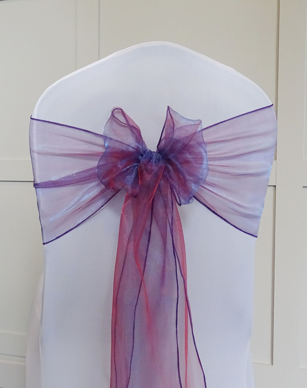 Crystal Purple Organza