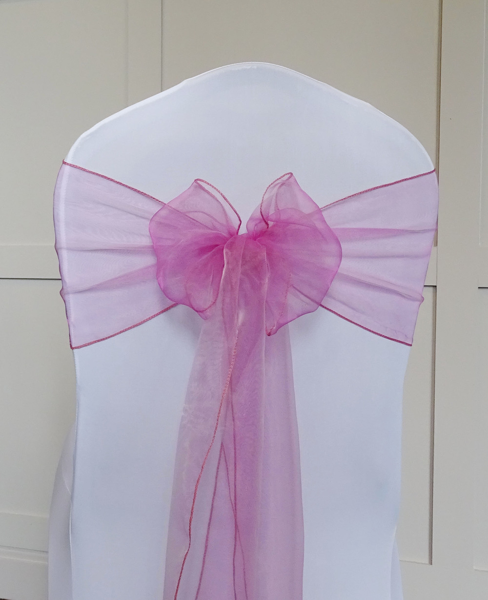 Dusty Pink Organza