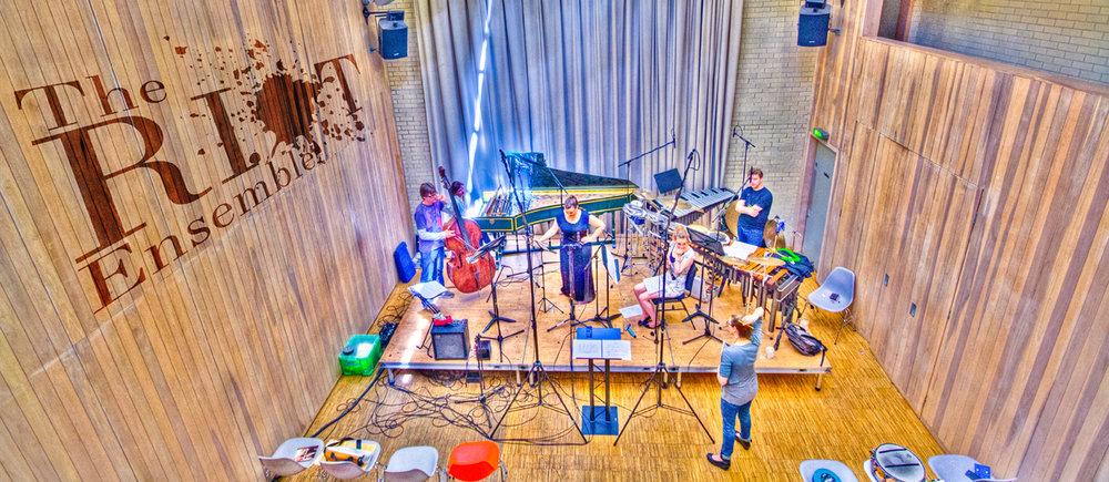 The Riot Ensemble. Photo: NN