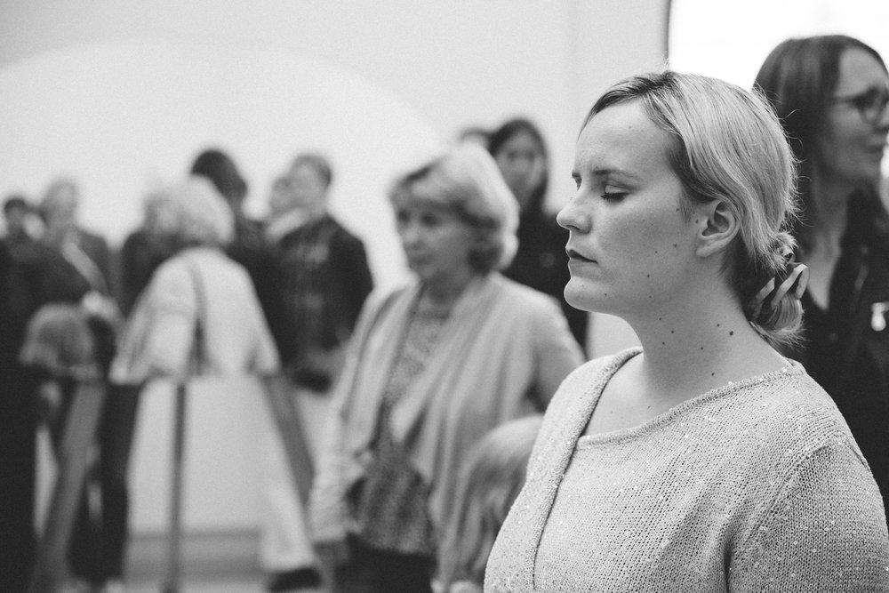 Choir installation. Photo: Rut Sigurðardóttir