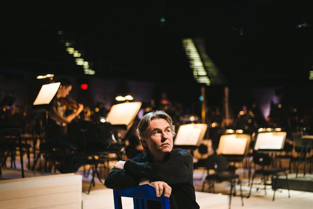 Esa-Pekka Salonen. Photo: Benjamin Suomela