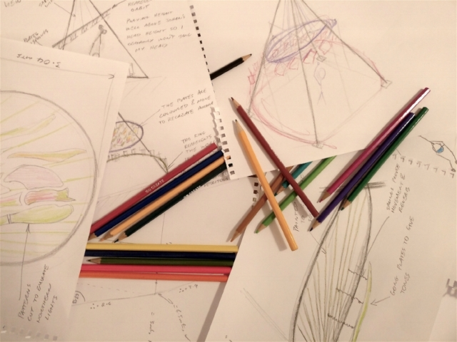 Music Sculpture Sketches