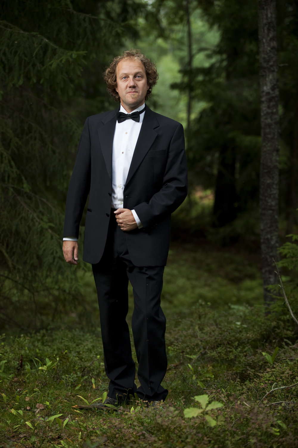 Martin Q Larsson, Artistic Director of Nordic Music Days 2017, photo by Melker Dahlstrand
