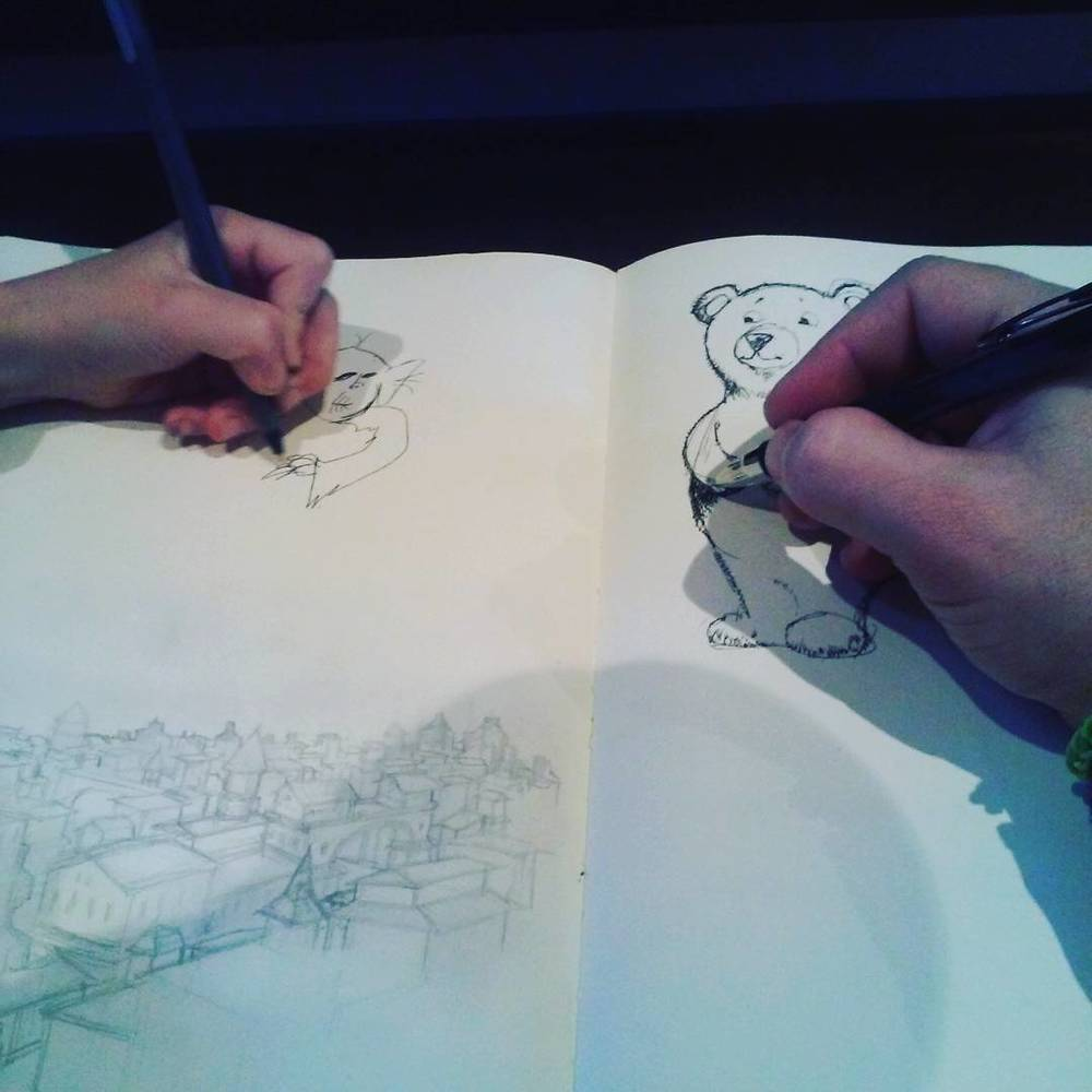 #familytime #kidlit #scbwinj #sketchbook