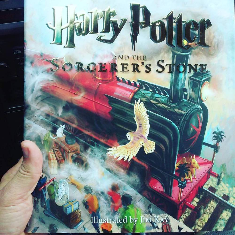 #harrypotterillustrated #harrypotter #jimkay #kidlit