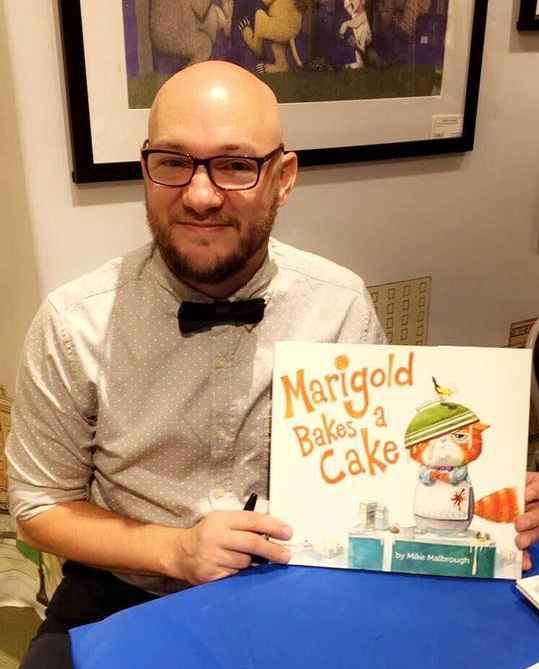 In 2016… - …Michael's debut picture book MARIGOLD BAKES A CAKE was published by Philomel to wonderful reviews.