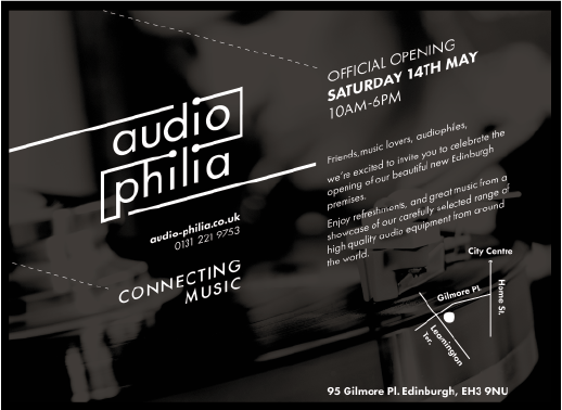 audio-philia official opening