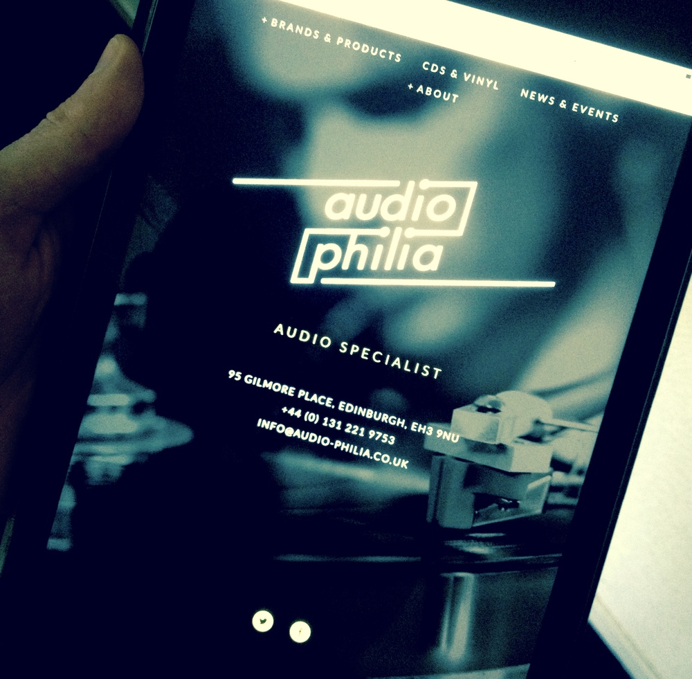 audio-philia website