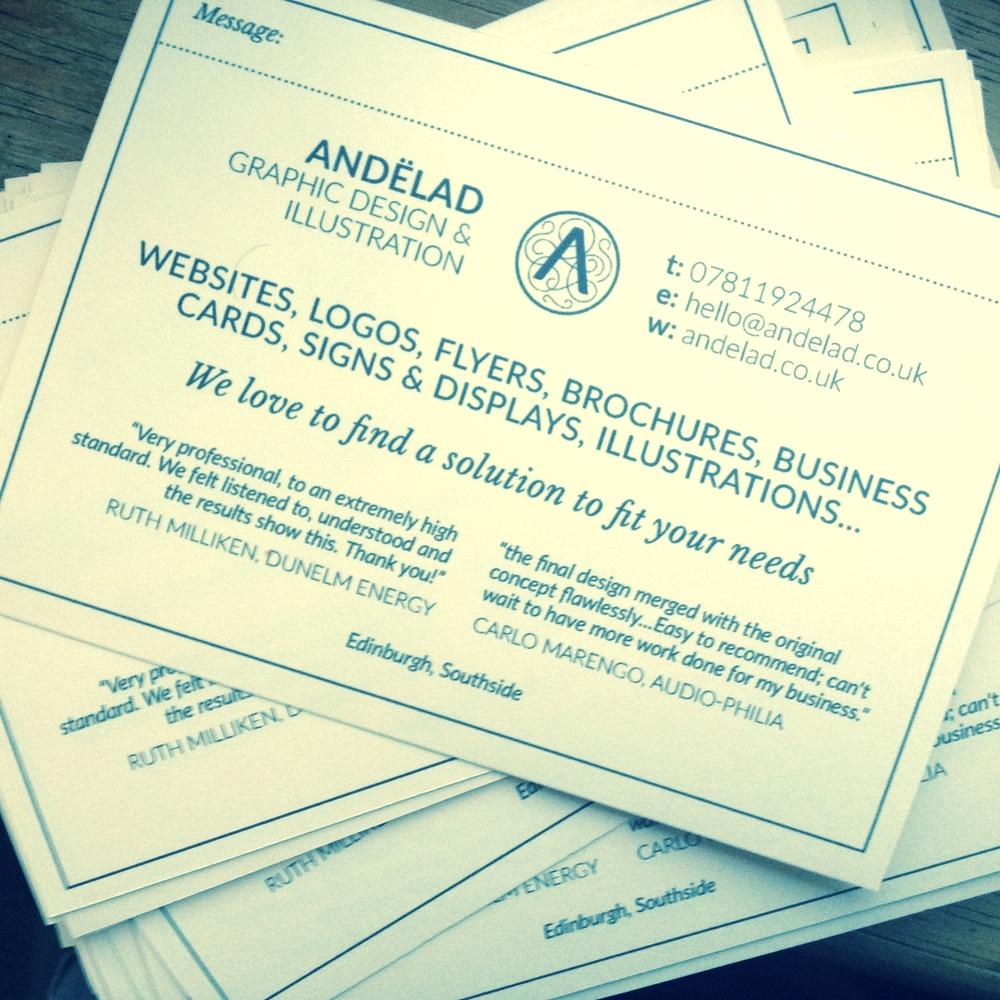 Andëlad leaflets