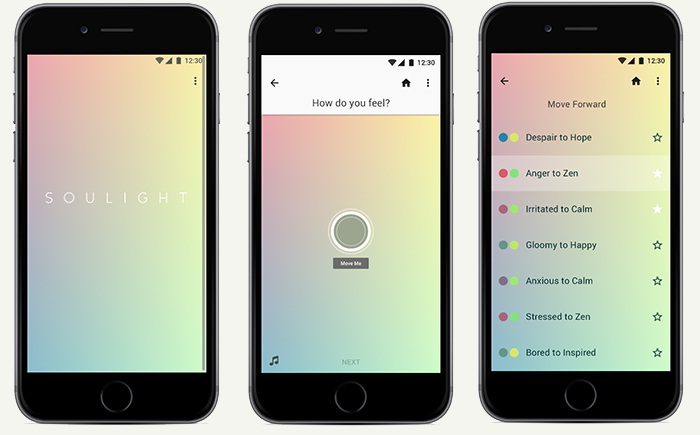 soulight app design