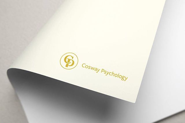 Hi all, Cosway Psychology is now fully launched. Created full branding to convey authority and care. A meaning-heavy but visually light logo mark, hints at the psychology Psi symbol, a personal seal, and the supportive nature of the psychologist-client relationship. https://buff.ly/2BFpSMt⠀ ⠀ Check out http://buff.ly/2BETFVC (specialised clinical psychology for those with psychological difficulties & long term physical conditions)