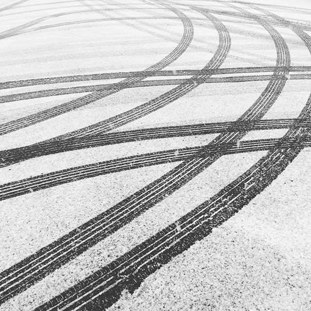 #snow #sleet #patterns #lines #loveit