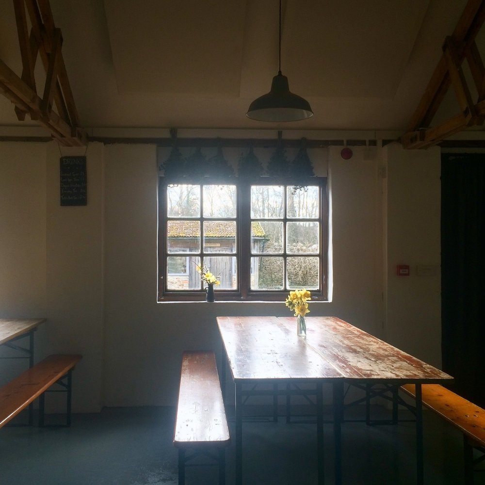 Spring light in the Old Dairy Kitchen