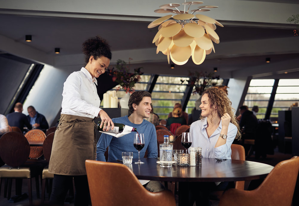 Het restaurant in Van der Valk Hotel Drachten (foto:  Valk Magazine )