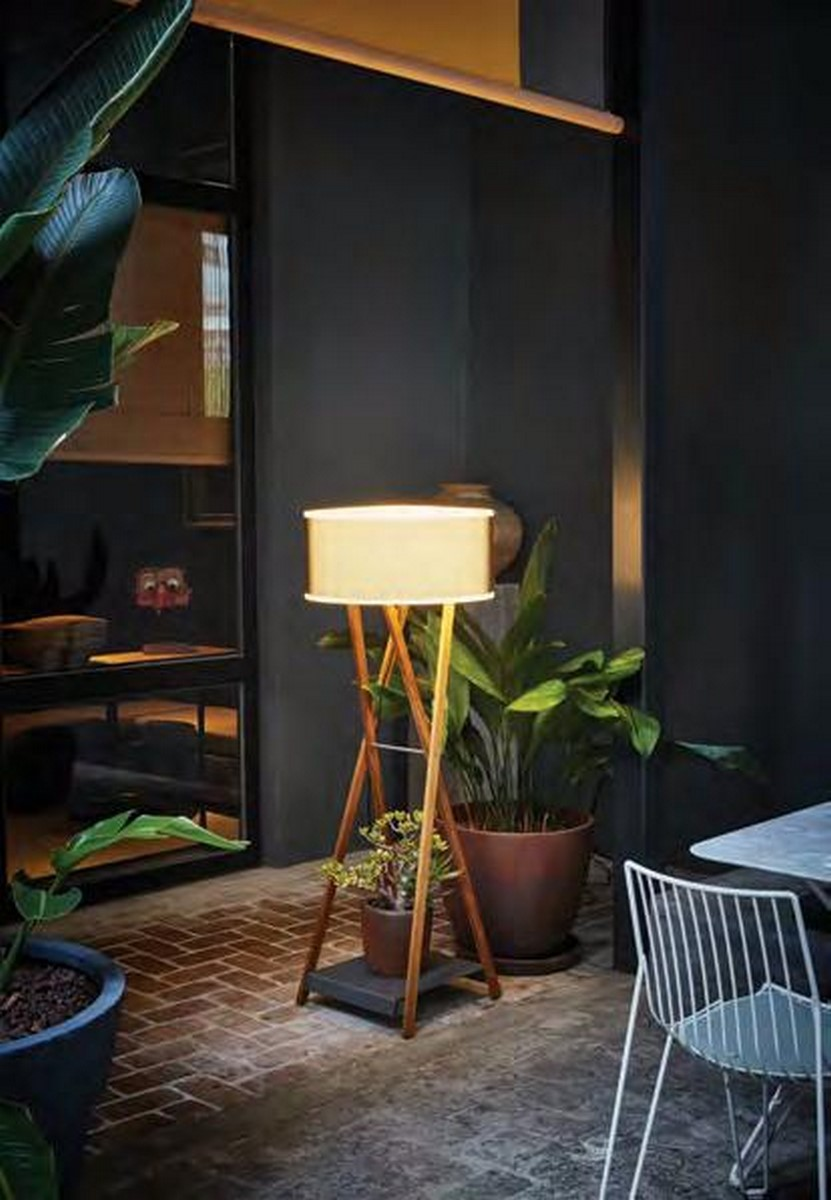Vloerlamp voor buiten