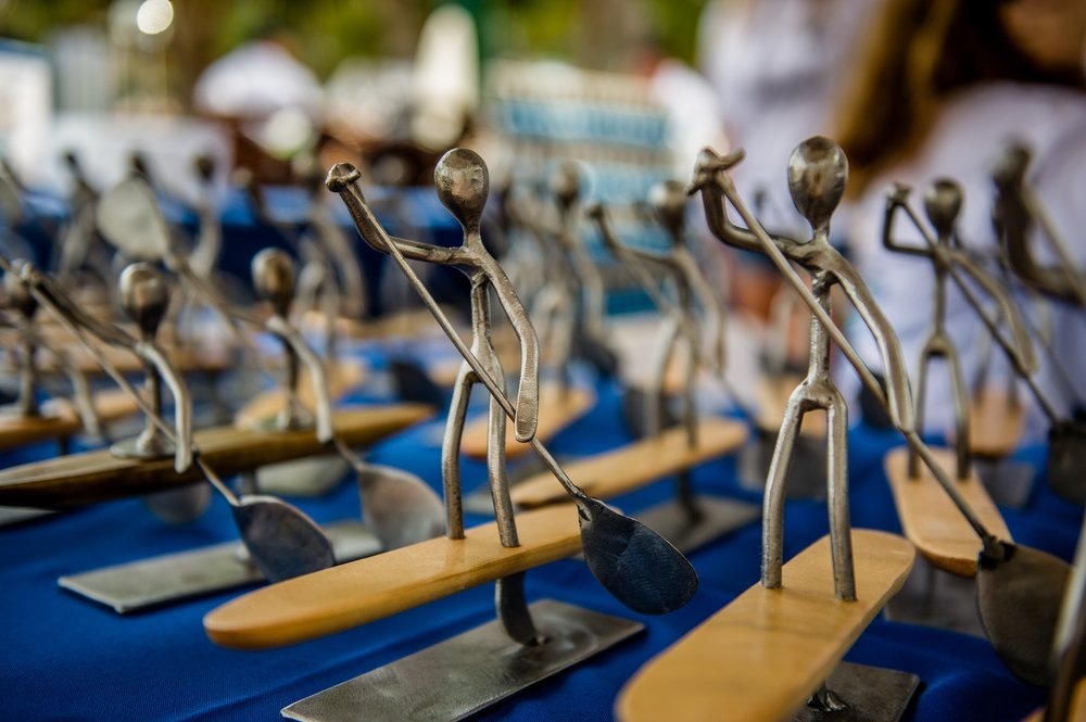 Award Ceremony Trophies