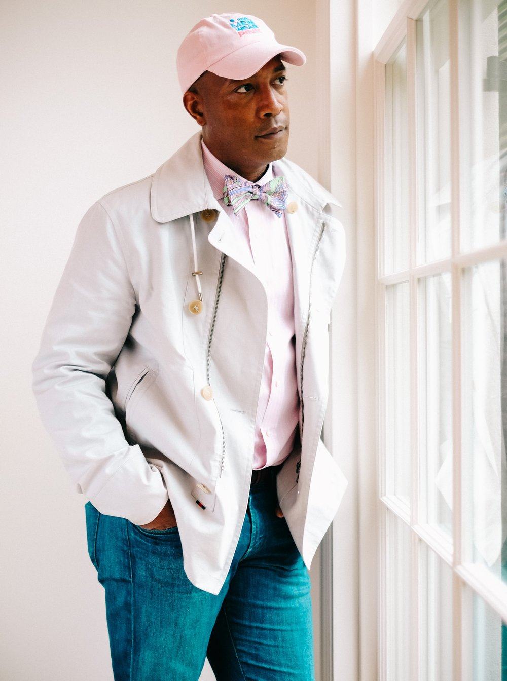 real men wear pink 3/4