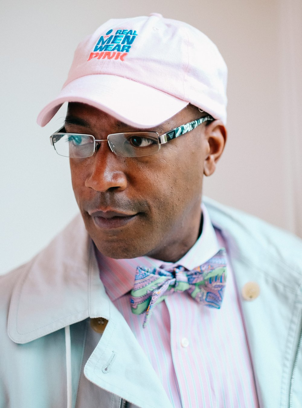 real men wear pink campaign hat