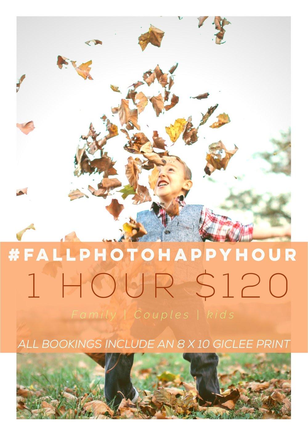 #FallPhotoHappyHour