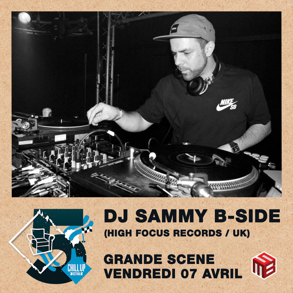 DJ Sammy B-Side Chill Up Festival France