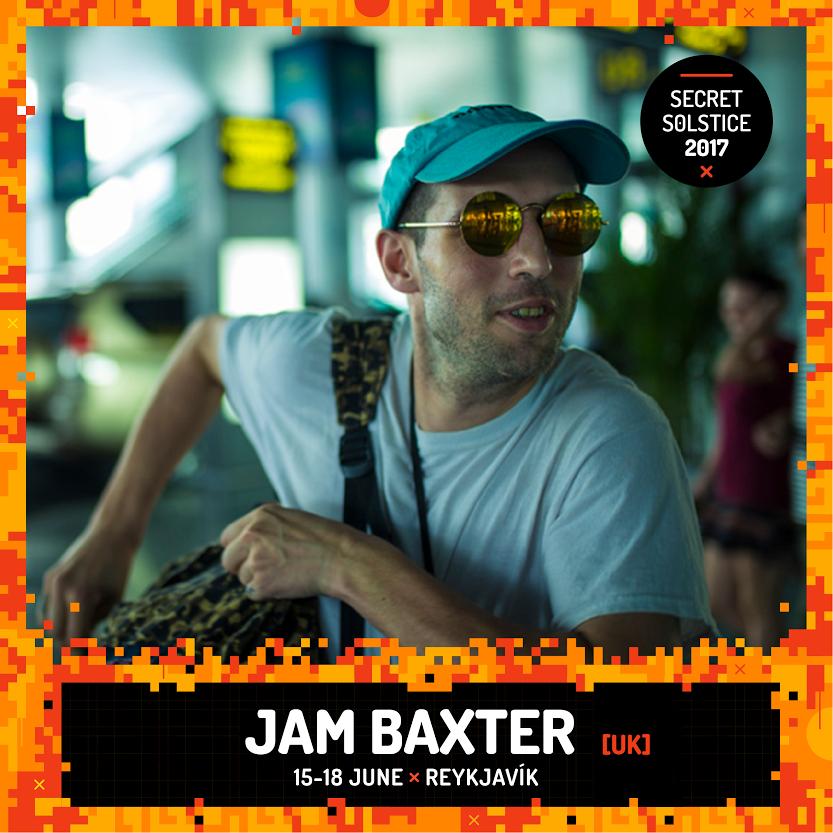 Jam Baxter Iceland