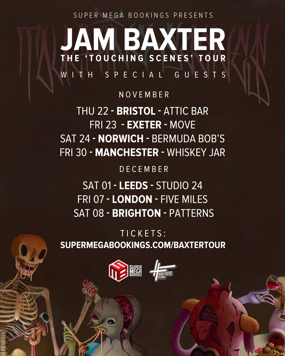 Baxter Tour flyer
