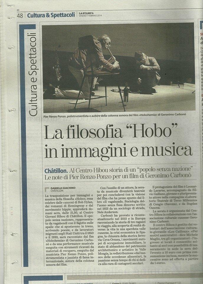 La Stampa , 11 II 014
