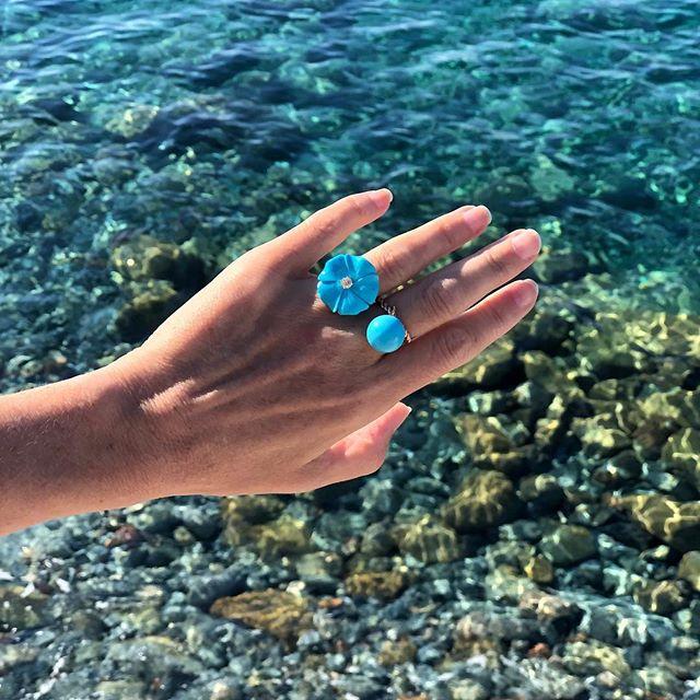 Mediterranean morning 🌼 #turquoise #summer