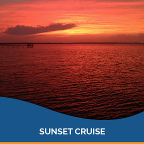 Join us, relax and observe our breathtaking Lowcountry sunset  from a harbor view on this memorable boat cruise!    Learn More