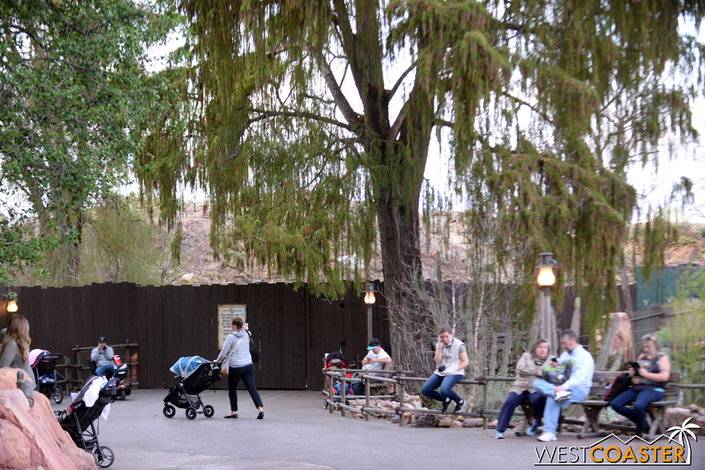 Those heading to Big Thunder Mountain Railroad won't be able to go much further before hitting a dead end.
